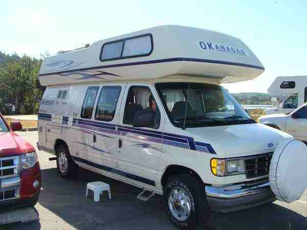 okanagan ford camper van for sale class b rv classifieds. Black Bedroom Furniture Sets. Home Design Ideas