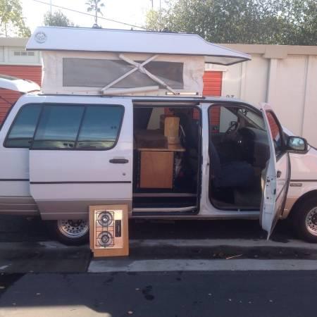 1995 ford aerostar camper for in hayward california please