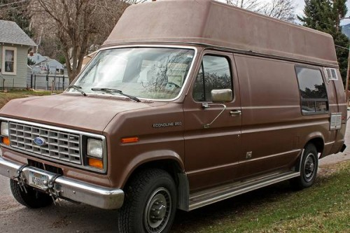 1989 Ford E250 Camper For Sale in Missoula, Montana