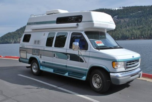 1998 Ford E350 Camper For Sale In Truckee California