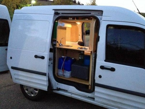 2010 ford transit connect camper for sale in boulder colorado. Black Bedroom Furniture Sets. Home Design Ideas
