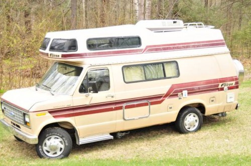 1986 Ford Falcon Camper For Sale in Western Massachusetts