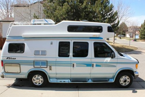 1996 ford falcon camper for sale in louisville colorado. Black Bedroom Furniture Sets. Home Design Ideas
