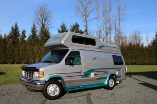 1996 Ford E350 Camper For Sale In Aldergrove  British Columbia