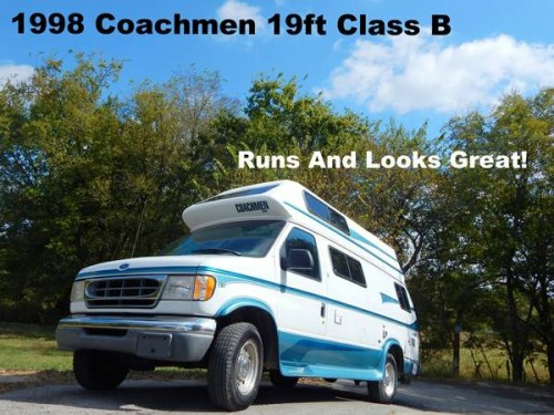1998 Ford Coachmen Camper For Sale in Tulsa, Oklahoma