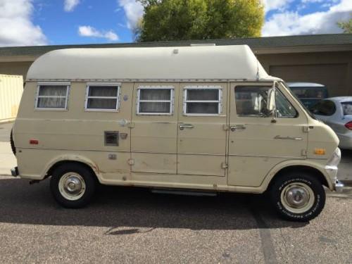 1971 Ford E200 Camper For Sale in Prescott, Arizona