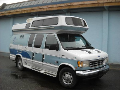1993 Ford E350 Camper For Sale in Vancouver, British Columbia