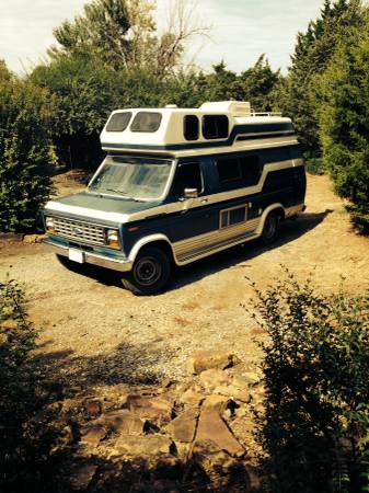 1989 Ford Coachmen Camper For Sale In Tulsa Oklahoma
