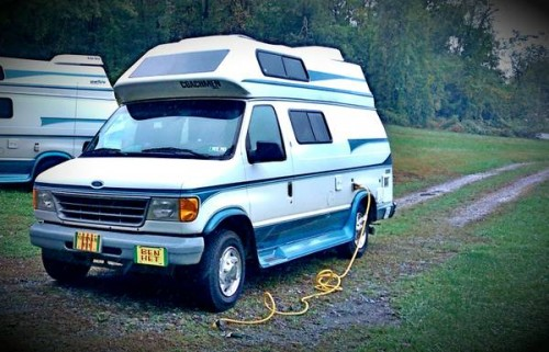 1996 ford e250 camper for sale in york pennsylvania. Black Bedroom Furniture Sets. Home Design Ideas