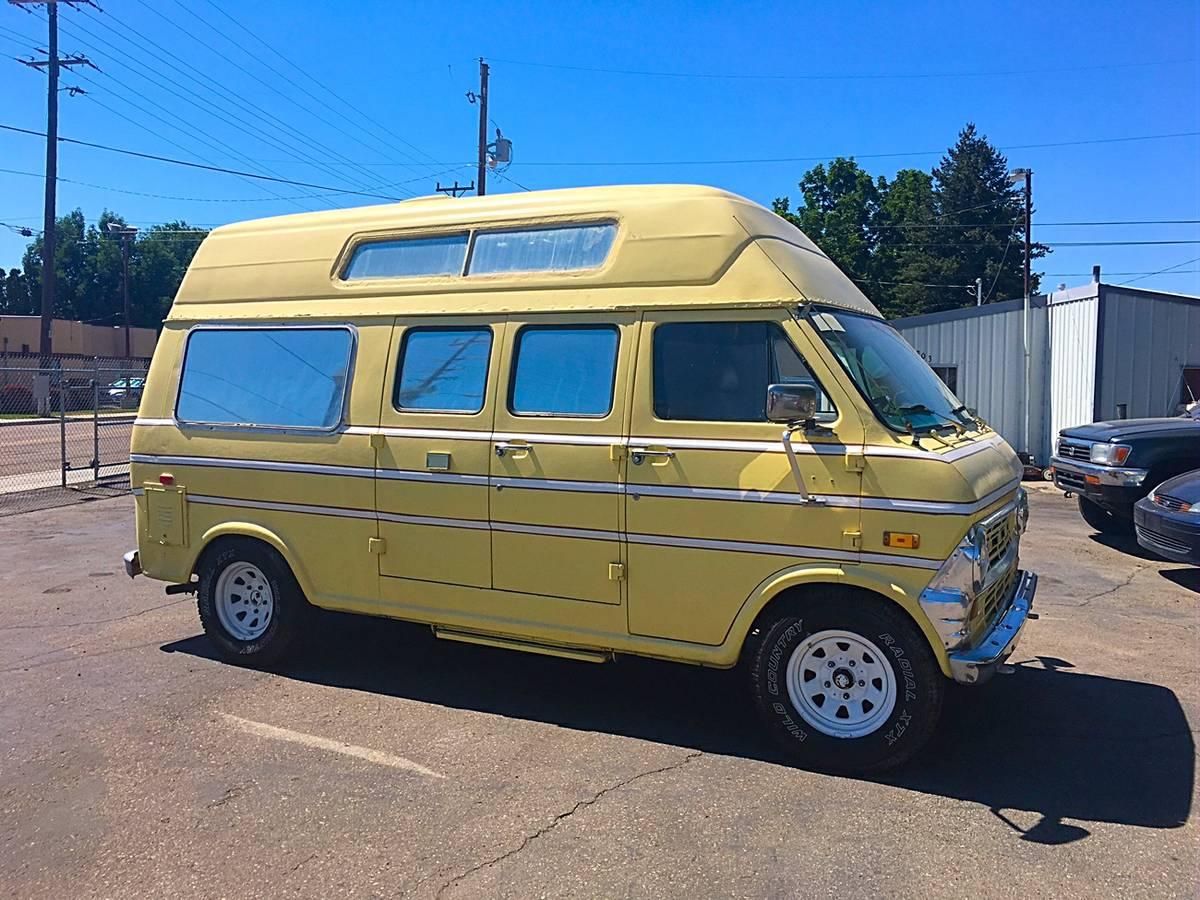 1973 ford econoline camper for sale in boise idaho. Black Bedroom Furniture Sets. Home Design Ideas
