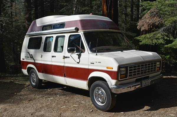 1987 E250 In Wawona California