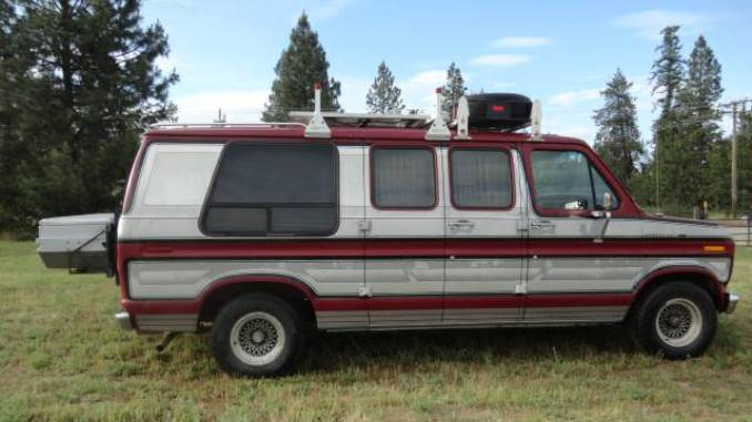 1990 Ford E150 Camper Van Conversion For Sale North Of